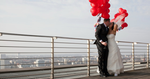 Janica & Benjamin I Farbenfrohes Paarshooting zur Hochzeit I März 2014